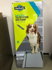 "PetSafe Happy Ride 62305 Telescoping Dog Ramp 39""-72"" Holds 400 lbs. Gently used"