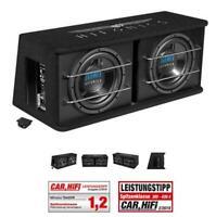 HIFONICS TDA-250 R Dual Aktiv Bassreflex Gehäuse-Sub 300 W/RMS, 600 W/MAX Subwoo