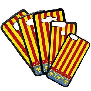 Carcasa Funda De Telefono Móvil TPU Diseño Bandera Escudo Comunidad Valenciana
