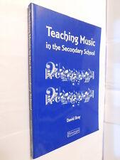 Teaching Music in Secondary School by David Bray PB book GCSE & A Level
