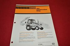 Case Tractor 780 Backhoe Dealers Brochure DCPA4