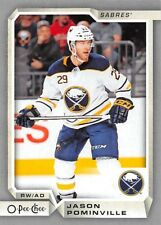 18/19 O-PEE-CHEE OPC SILVER #184 JASON POMINVILLE SABRES *55610