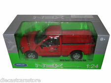 WELLY 2015 FORD F-150 PICKUP TRUCK REGULAR CAB RED 1/24 DIECAST MODEL 24063RD