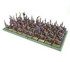Warhammer Fantasía Edad de Sigmar Ejército Orcos Y Goblins Noche x50 Pintado