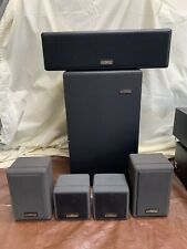 Cambridge Soundworks 5.1 Surround Home Theatre Speakers Sub Satellite CTR VIDEO