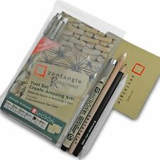 Sakura Zentangle Renaissance Set - Wallet of Sakura Fineliners, Pencils & Tiles