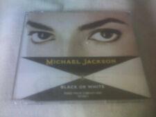 MICHAEL JACKSON - BLACK OR WHITE - 3 TRACK CD SINGLE