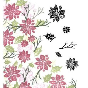 Card-io Winter Blooms Majestix Clear Peg Stamps CDMAWI-04