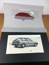 New ListingMazda 323 Hatchback Advertising Artwork Art Print Created By Marketing Artist