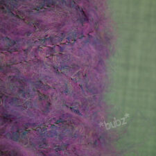 SUPER SOFT MOHAIR WOOL 4 PLY YARN 500g CONE MULBERRY PINK HAND MACHINE KNITTING