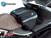 MF1766 - BORSA TUNNEL CENTRALE 16-20 LT BLACK ORIGINALE PIAGGIO BY SHAD 605650M