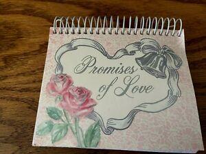 "Heartland Samplers Perpetual Calendar ""Promises of Love""  5.5"" x 5"""