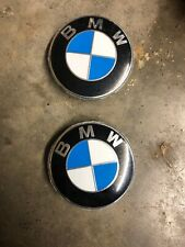 BMW Genuine Chrome Ring Wheel Center hub Cap NEW 36136783536