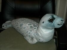 "25"" beautiful sea creature personality plush Gray Brown Seal Fiesta #A36091"