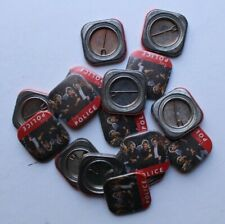 The Police Sting 15 Vintage Pinback Buttons