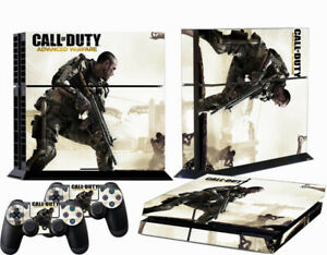 PS4 Game Console Skin Sticker Call of Duty Vinyl Decal Skin Sticker