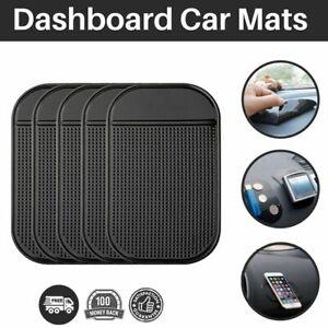 Car Mat Black Non-Slip Sticky Dashboard Phone Holder Mat Anti Slip Rubber Mount