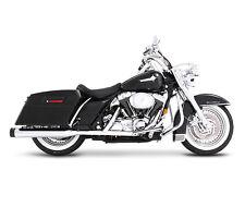 Harley-Davidson Rinehart slip-ons Chrome w/black tips for touring models