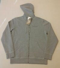 Oakley Mens O-Jupiter Fleece Chino Gray Full Zip Hoodie Size M