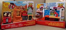 Disney Toy Story Mini'S Playset - Andy'S Room & Western Adventure *New*