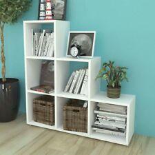 Estantería para libros en forma de escalera en varios colores y dimensiones