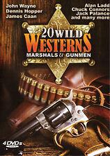 20 Wild Westerns: Marshals & Gunmen (DVD, 2010, 4-Disc Set)