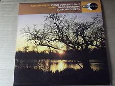 RACHMANINOV PIANO CONCERTO No 2 / GRIEG PIANO CONCERTO - CURZON LP ECS 753