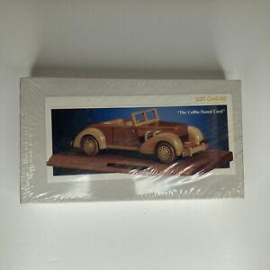 VINTAGE CAR CLUB OF AMERICA #42503 1937 CORD 812 WOODEN MODEL KIT 1/24