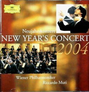 New Year's Concert 2004 -  Wiener Philharmoniker, Riccardo Muti  -  CD, VG