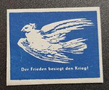 Cinderella Poster Stamp Der Frieden besiegt den Krieg (7610)