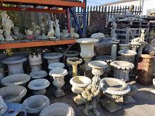 Antiqued Ornamental Cast Stonewear Planters & Pots Garden Ornaments