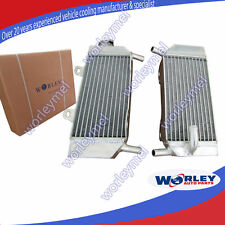 For HONDA CRF250R/CRF250X Radiator 2004 2005 2006 2007 2008 2009 ALUMINUM