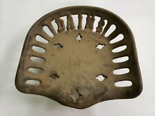 Dains Cast Iron Implement Tractor Seat