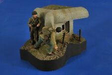 "VERLINDEN PRODUCTIONS #2585 WWII Bunker Vignette ""Taking The Pillbox"" in 1:35"