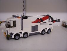 Lego City Heavy Hauler Remolque Camión Personalizado (boom) Rojo L @ @ K