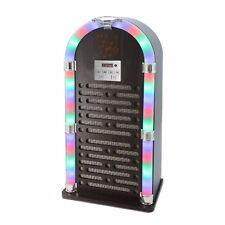 ITEK I60020 Bluetooth JUKEBOX con radio FM e display a LED-Marrone-GRATIS P&P