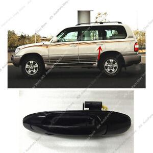 For 98-07 Land Cruiser LC100 / Lexus LX470 LEFT REAR Door Outside Handle Black k