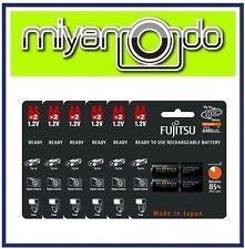 Fujitsu 2AA 2450mAh Rechargeable Battery (6-Pack)
