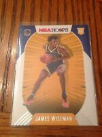 James Wiseman 2020-21 Panini NBA Hoops Warriors Rookie RC #205 🔥🔥