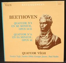 Beethoven Quatuor Vegh Quatuors 8 & 11 LP NM & CV EX +