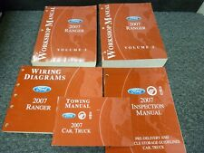 2007 Ford Ranger Pickup Shop Service Repair Manual Set XL XLT Sport STX FX4