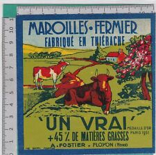 K630 FROMAGE MAROILLES A. FOSTIER FLOYON NORD THIERACHE