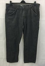 Mens Bench Jeans W36 L32 Grey Denim Straight Leg Jeans