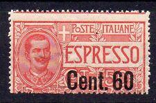 1922 REGNO ESPRESSO 60 CENTESIMI SU 50 INTEGRO C/4320