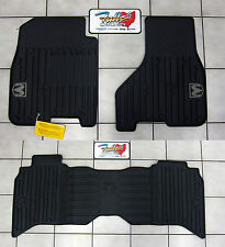 2009-2012 Dodge Ram Crew Cab All Weather Rubber Slush Floor Mats Mopar OEM