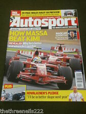 AUTOSPORT - KYLE BUSCH NASCAR SUPERSTAR - DEC 4 2008