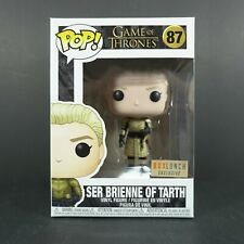 Funko Pop Ser Brienne Of Tarth 87 Game Of Thrones Box Lunch Exclusive