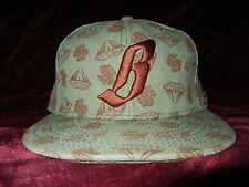 Billionaire Boys Club Diamond Dollar #S09 Olive Money Green 7 5/8 Hat BBC Babe