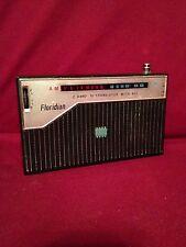 Vintage Transistor Radio Ross AM FM 10 Transistor W/ AFC Floridian Radio Japan
