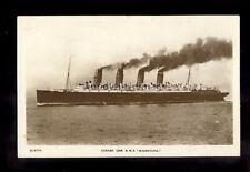 LS1705 - Cunard Liner - Mauretania - postcard